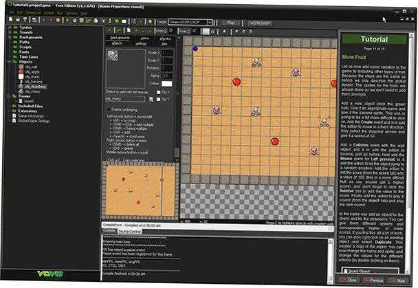 Game maker studio app dev